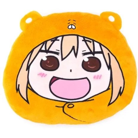 umaru chan face pillow