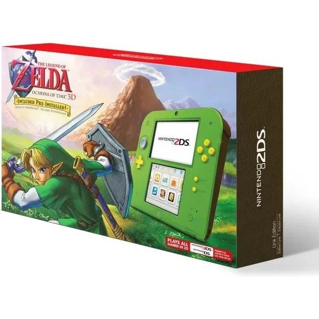 2DS Link Ocarina Edition (Play-Asia)