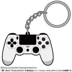 PLAYSTATION FAMILY MARK RUBBER KEYCHAIN: DUALSHOCK 4 (RE-RUN) Cospa