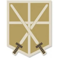 ATTACK ON TITAN PATCH: TRAINING CORPS (RE-RUN) Cospa