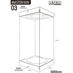 MASTER REVOLVING HOUSE 03 BLACK VER. Legend Studio