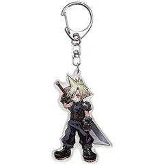 DISSIDIA FINAL FANTASY ACRYLIC KEYCHAIN: CLOUD (RE-RUN) Square Enix