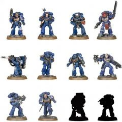 WARHAMMER 40,000: SPACE MARINE HEROES SERIES NO.1 (SET OF 24 PIECES) (RE-RUN) Max Factory