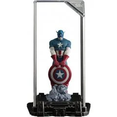 SUPER HERO ILLUMINATE GALLERY COLLECTION VOL.1: CAPTAIN AMERICA (RE-RUN) Topi
