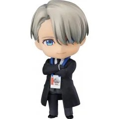NENDOROID NO. 865 YURI!!! ON ICE: VICTOR NIKIFOROV COACH VER. [GOOD SMILE COMPANY ONLINE SHOP LIMITED VER.] Orange Rouge