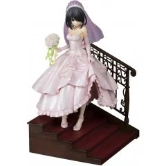 DATE A LIVE 1/7 SCALE PRE-PAINTED FIGURE: TOKISAKI KURUMI WEDDING VER. PINK by Pulchra