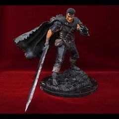 Berserk 1/6 Scale Statue: Black Soldier Winter Journey Limited II - Art of War