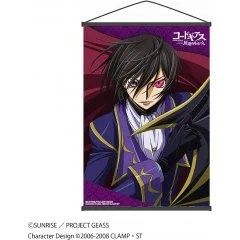 CODE GEASS LELOUCH OF THE REBELLION WALL SCROLL A: ZERO by PROOF