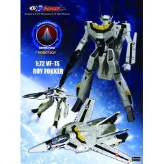 ROBOTECH 1/72 SCALE ACTION FIGURE: VF-1S ROY FOKKER (RE-RUN) KitzConcept