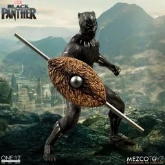 ONE:12 COLLECTIVE ACTION FIGURE: BLACK PANTHER Mezco