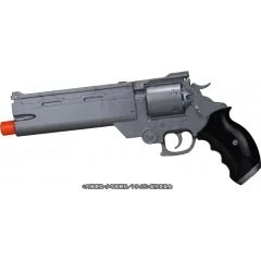 THE MOVIE OF TRIGUN BADLANDS RUMBLE 1/1 SCALE: VASH'S WATER GUN SILVER VER. Fullcock