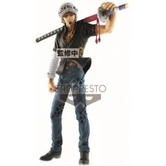 ONE PIECE PRE-PAINTED FIGURE: TRAFALGAR LAW LARGE SIZE Banpresto
