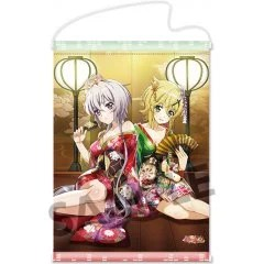 SENKI ZESSHOU SYMPHOGEAR XD UNLIMITED A3 WALL SCROLL: ADEYAKANA FUTARI (CHRIS & KIRIKA) Hobby Stock