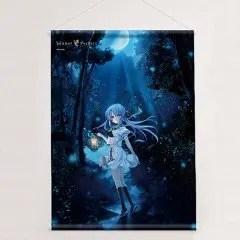 SUMMER POCKETS B2 WALL SCROLL: SORAKADO AO (RE-RUN) Curtain Damashii