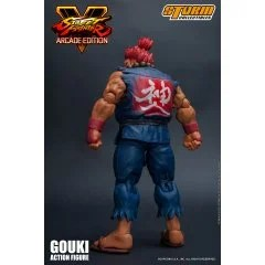 STREET FIGHTER V 1/12 SCALE PRE-PAINTED ACTION FIGURE: GOUKI NOSTALGIA COSTUME VER. Storm Collectibles