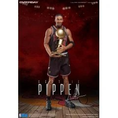 REAL MASTERPIECE NBA COLLECTION 1/6 SCALE PRE-PAINTED FIGURE: SCOTTIE PIPPEN (RE-RUN) Enterbay