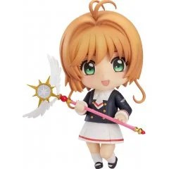 NENDOROID NO. 918 CARDCAPTOR SAKURA CLEAR CARD: SAKURA KINOMOTO TOMOEDA JUNIOR HIGH UNIFORM VER. Good Smile