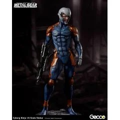 METAL GEAR SOLID 1/6 SCALE PRE-PAINTED STATUE: CYBORG NINJA Gecco