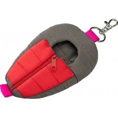 NENDOROID POUCH: SLEEPING BAG (GREY AND RED VER.) Good Smile