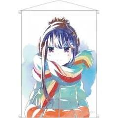 YURUCAMP ANI-ART WALL SCROLL: SHIMA RIN armabianca