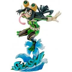 MY HERO ACADEMIA 1/8 SCALE PRE-PAINTED FIGURE: TSUYU ASUI HERO SUIT VER. Bell Fine