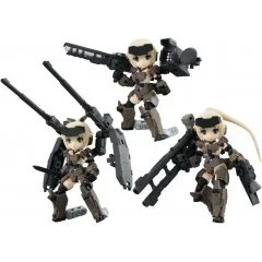 DESKTOP ARMY FRAME ARMS GIRL KT-321F GOURAI SERIES VER. 1.2 (SET OF 3 PIECES) Mega House