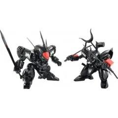 MASHIN HERO WATARU PLAMAX MS-04: BLACK RYUJINMARU / SENJINMARU SET Max Factory