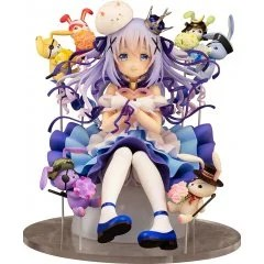 IS THE ORDER A RABBIT? 1/7 SCALE PRE-PAINTED FIGURE: CHINO & RABBIT DOLLS Easy Eight