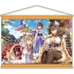 KANPANI GIRLS HD WALL SCROLL: END CARD ILLUSTRATION PART 3 Kadokawa Shoten