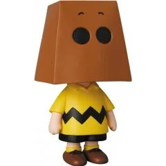 PEANUTS SERIES 10 ULTRA DETAIL FIGURE: CHARLIE BROWN (GROCERY BAG VER.) Medicom