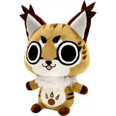 MONSTER HUNTER DEFORMED PLUSH: GRIMALKYNE (RE-RUN) Capcom