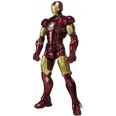 S.H.FIGUARTS IRON MAN: IRON MAN MARK 3 (RE-RUN) Tamashii (Bandai Toys)