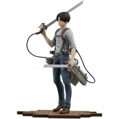 BRAVE-ACT ATTACK ON TITAN 1/8 SCALE PRE-PAINTED FIGURE: LEVI -VER. 2B- Sentinel