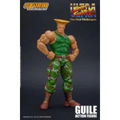 ULTRA STREET FIGHTER II THE FINAL CHALLENGERS 1/12 SCALE PRE-PAINTED ACTION FIGURE: GUILE Storm Collectibles