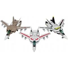 THE SUPER DIMENSION FORTRESS MACROSS 1/100 SCALE MODEL KIT: VF-1 [A / J / S] FIGHTER MULTIPLEX Wave Corporation