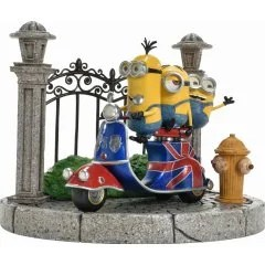 DESPICABLE ME PRIME COLLECTIBLE FIGURE: MINIONS ON A SCOOTER Prime 1 Studio