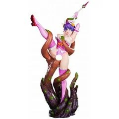 HENTAI SERIES VOL.06 1/7 SCALE PRE-PAINTED FIGURE: TENTACLE BONDAGE MAGICAL GIRL MANA Lechery