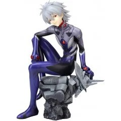 REBUILD OF EVANGELION 1/6 SCALE PRE-PAINTED FIGURE: KAWORU NAGISA -PLUG SUIT VER.-: RE Kotobukiya