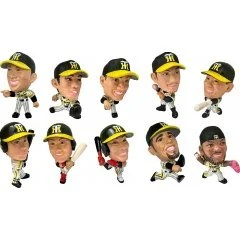 16D TRADING FIGURE COLLECTION: HANSHIN TIGERS 2019 (SET OF 10 PIECES) 16 directions
