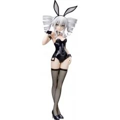HYPERDIMENSION NEPTUNIA 1/4 SCALE PRE-PAINTED FIGURE: BLACK SISTER BUNNY VER. Freeing