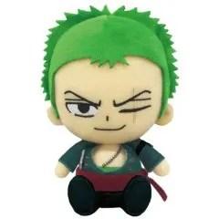 ONE PIECE CHIBI PLUSH: RORONOA ZORO Tamashii (Bandai Toys)