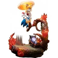 SONIC THE HEDGEHOG STATUE: SONIC AND TAILS STANDARD EDITION First4Figures