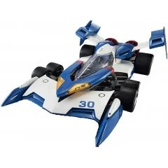 VARIABLE ACTION HI-SPEC FUTURE GPX CYBER FORMULA 1/18 SCALE PRE-PAINTED FIGURE: SUPER ASURADA 01 (RE-RUN) Mega House