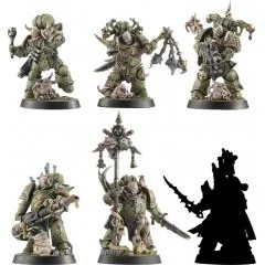 WARHAMMER 40,000: SPACE MARINE HEROES SERIES NO.3 (SET OF 6 PIECES) Max Factory