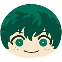 MY HERO ACADEMIA BIG OMANJU CUSHION 1: IZUKU MIDORIYA Ensky