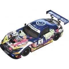 PROMARE 1/18 SCALE MINIATURE CAR: #4 MERCEDES-AMG TEAM BLACK FALCON 2019 SPA24H VER. Good Smile Racing