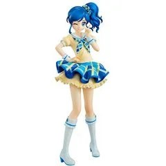 LUCREA AIKATSU! 1/7 SCALE PRE-PAINTED FIGURE: AOI KIRIYA BLUE STAGE COORDINATE Mega House