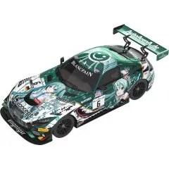 CHARACTER VOCAL SERIES 01 VOCALOID HATSUNE MIKU 1/43 SCALE MINIATURE CAR: #6 MERCEDES-AMG TEAM BLACK FALCON 2019 SPA24H VER. Good Smile Racing