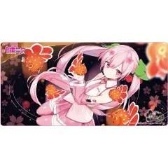 HIROSAKI NEPUTA FESTIVAL X HATSUNE MIKU SAKURA MIKU PLAY MAT ILLUSTRATION BY KIYAMACHI Chara-Ani