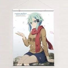 SWORD ART ONLINE -ALICIZATION- B2 WALL SCROLL: SINON CHERRY BLOSSOMS Curtain Damashii